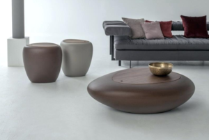 Living room seat and table